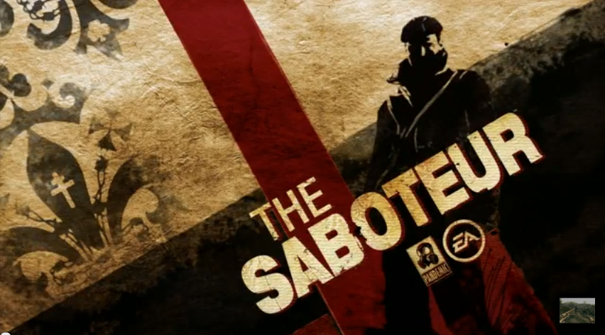 Swaggers Plays: The Saboteur