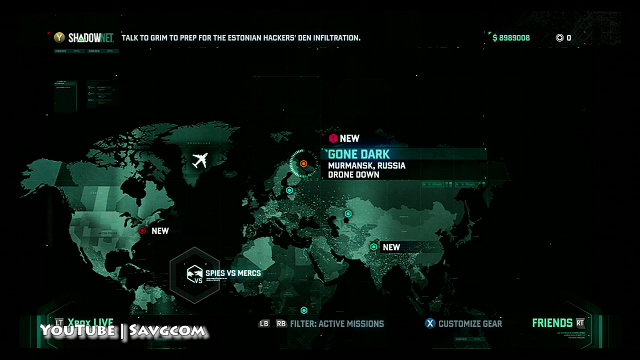 lösung splinter cell blacklist
