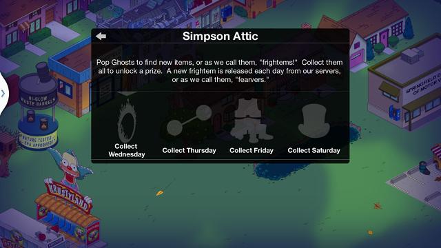 Simpson Attic Info