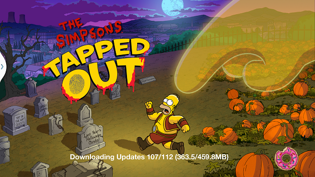 Halloween 2013 Log In Screen