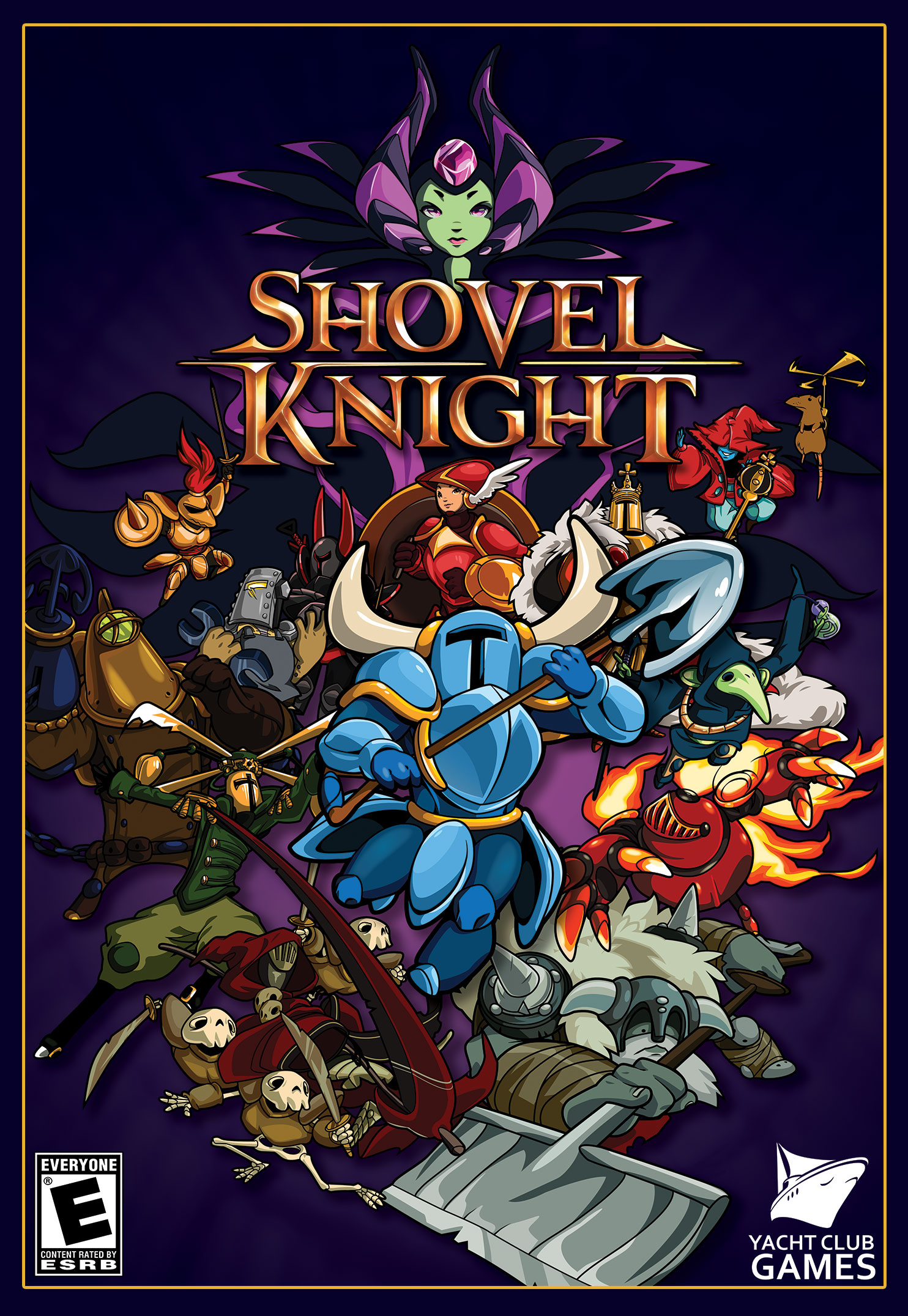 shovel knight how to catch