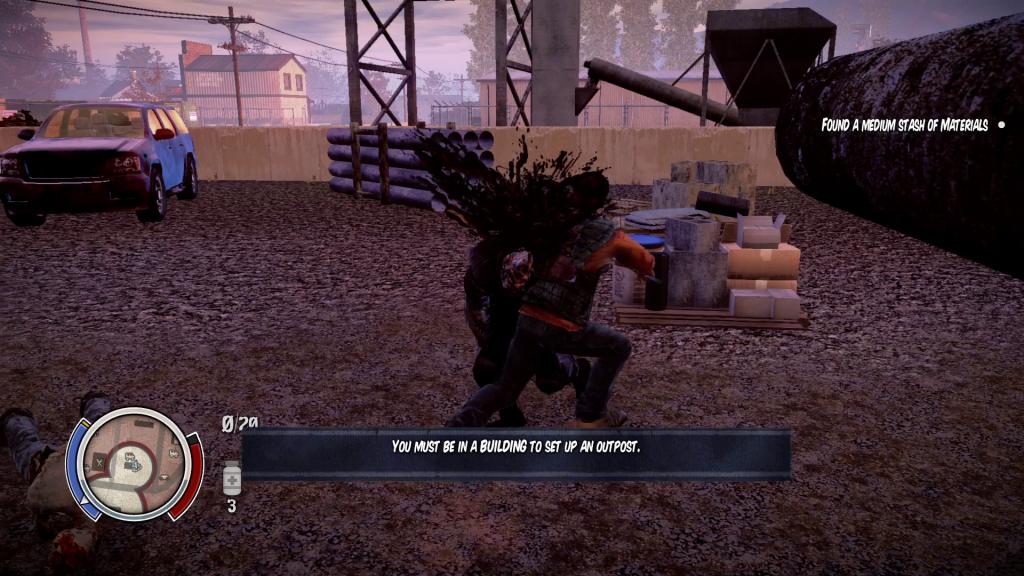 Survivor 1 - Zombie 0