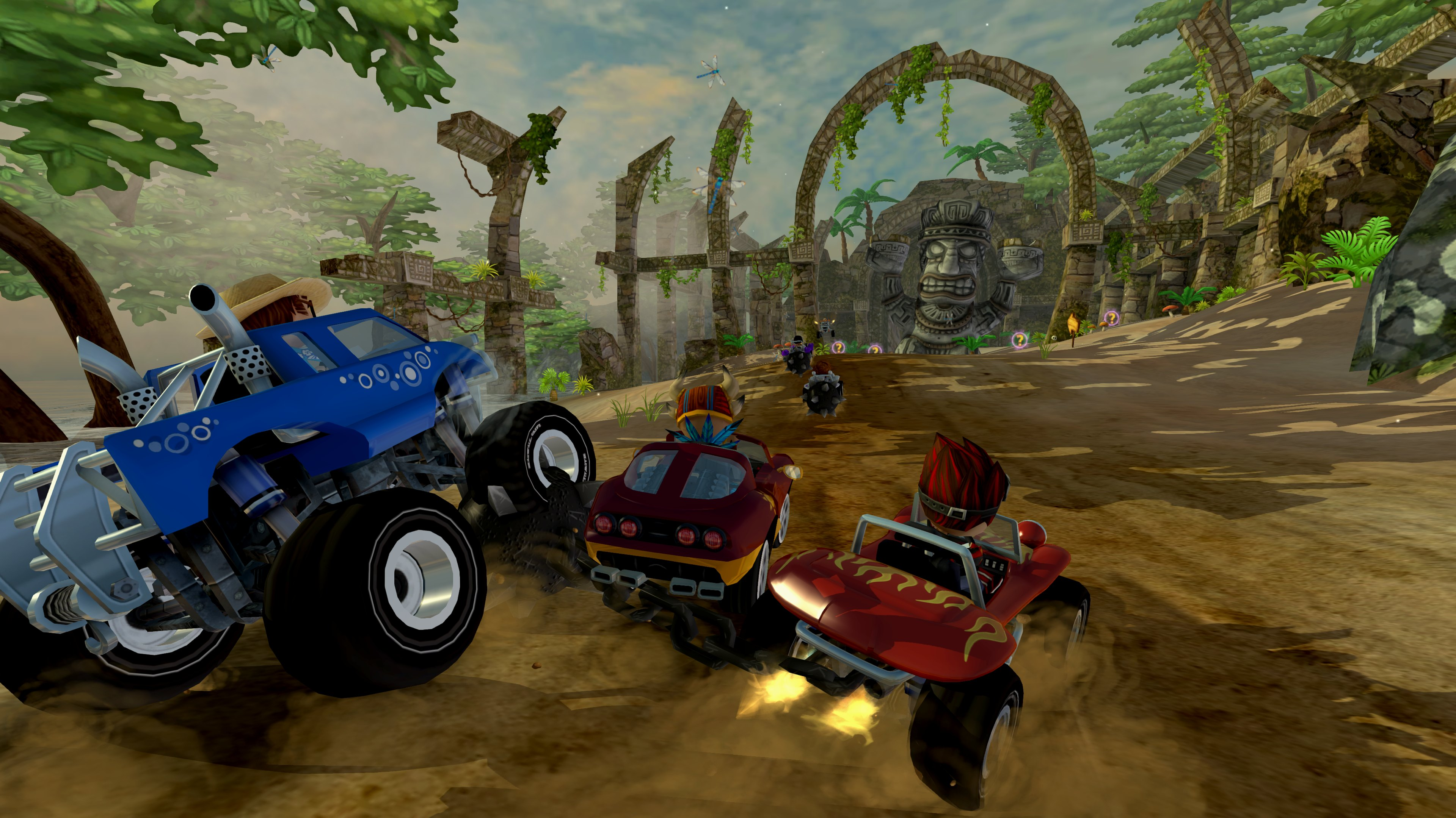 Review beach buggy racing gameguidecentral com