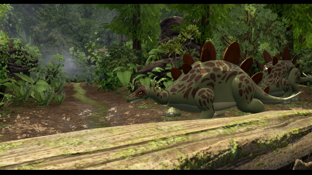 Dinosaurs! You can play as LEGO Dinosaurs!