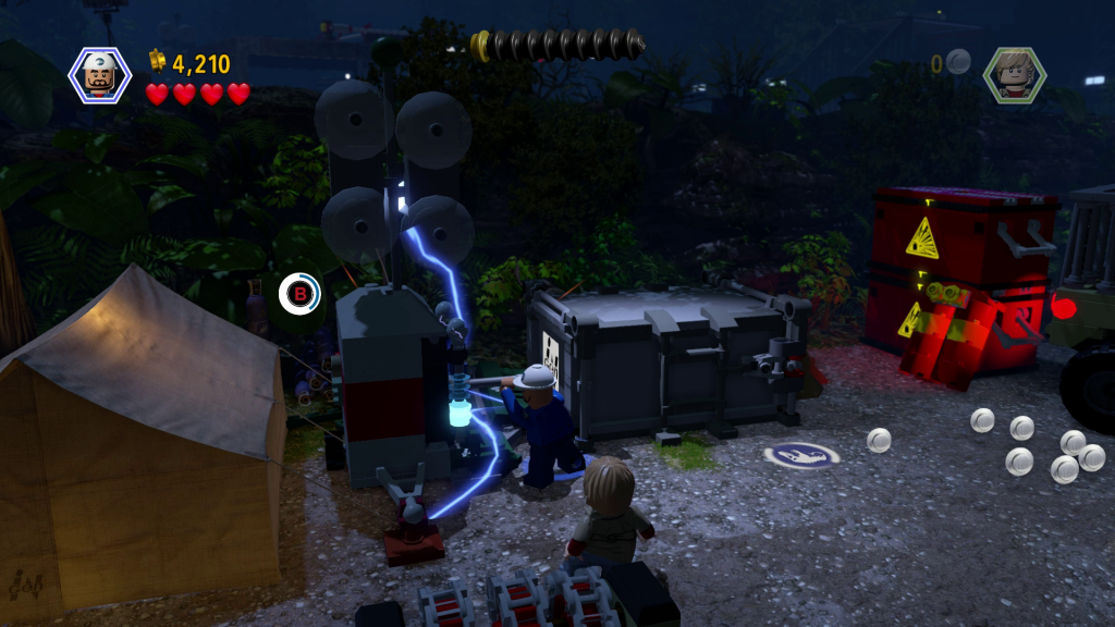 A LEGO game isn't complete without a ton of random abilities!