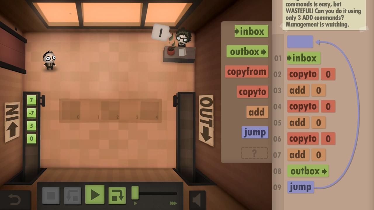 equalization room human resource machine